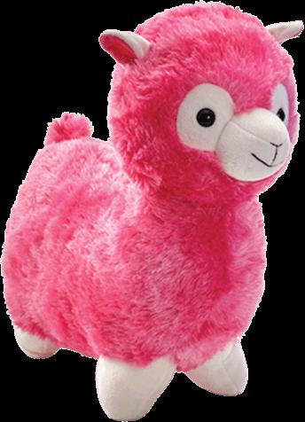 Alpaca Mjukisdjur - Rosa
