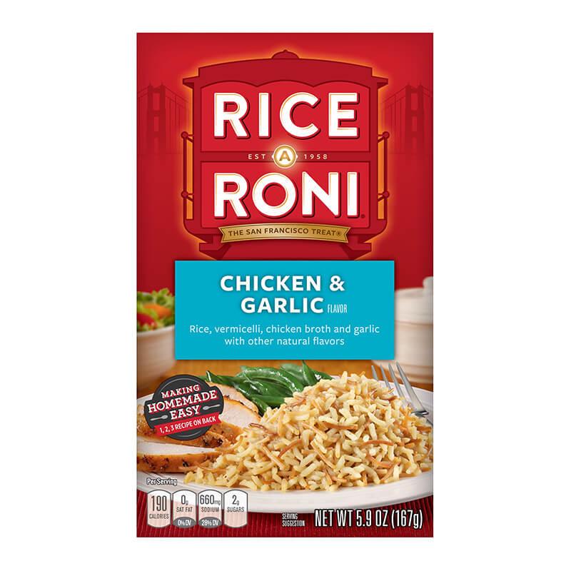 Rice A Roni - Chicken & Garlic 167g