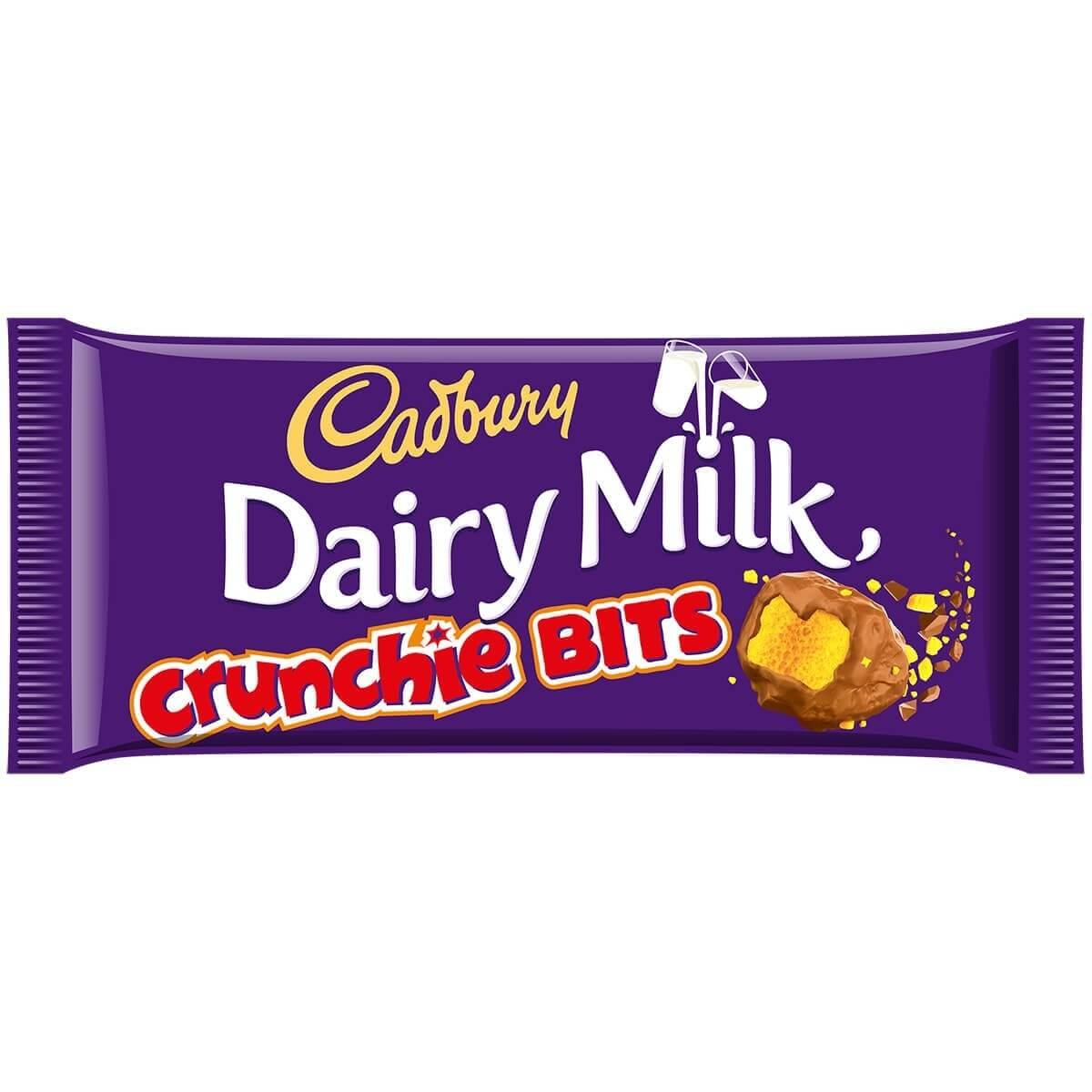 Bild av Cadbury Dairy Milk with Crunchie Bits 200g