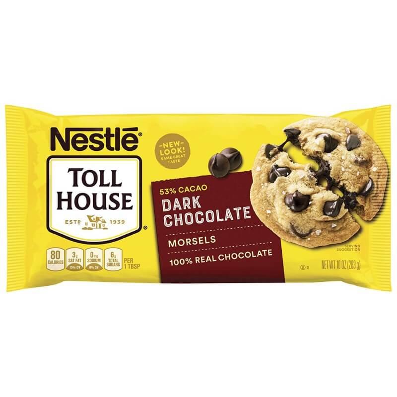 Nestle Toll House Dark Chocolate Morsels 283g