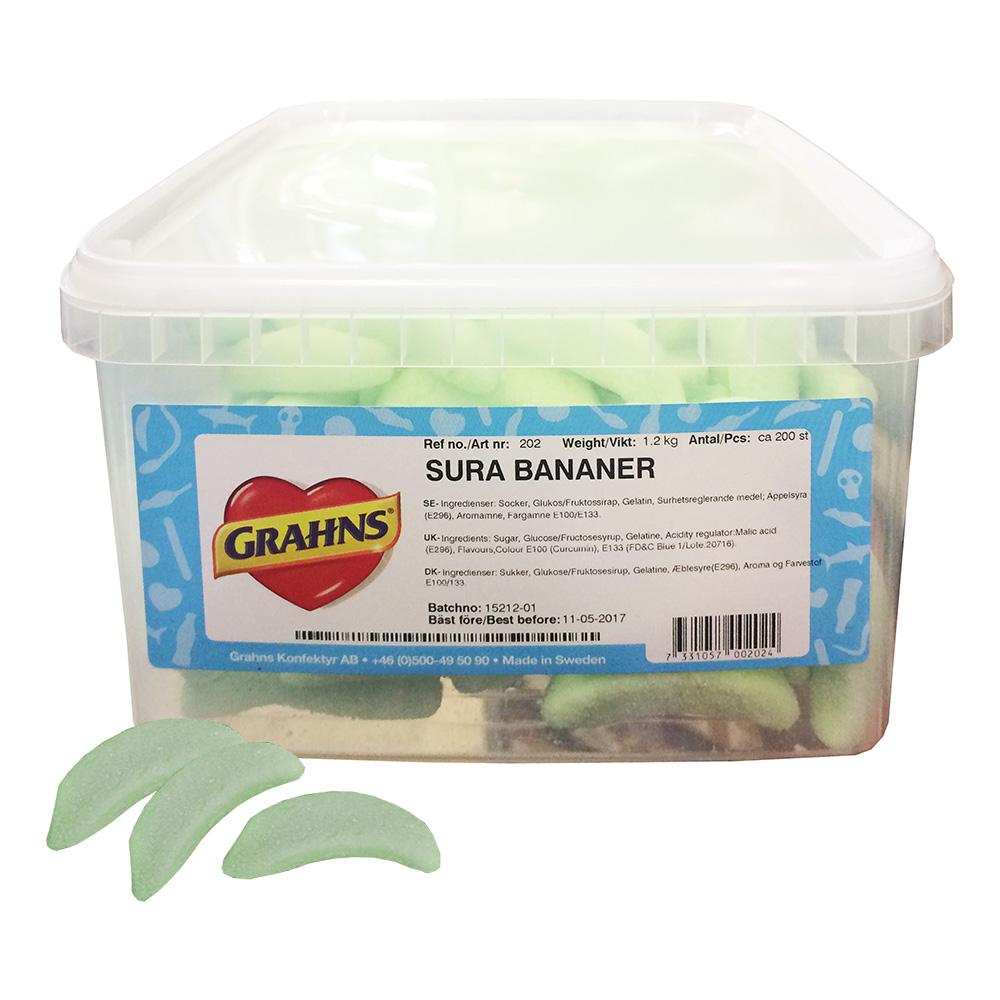 Bananer Sura 1.2kg
