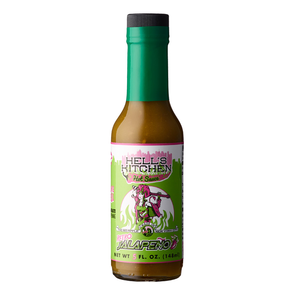 Hells Kitchen Retro Jalapeno Hot Sauce 148ml