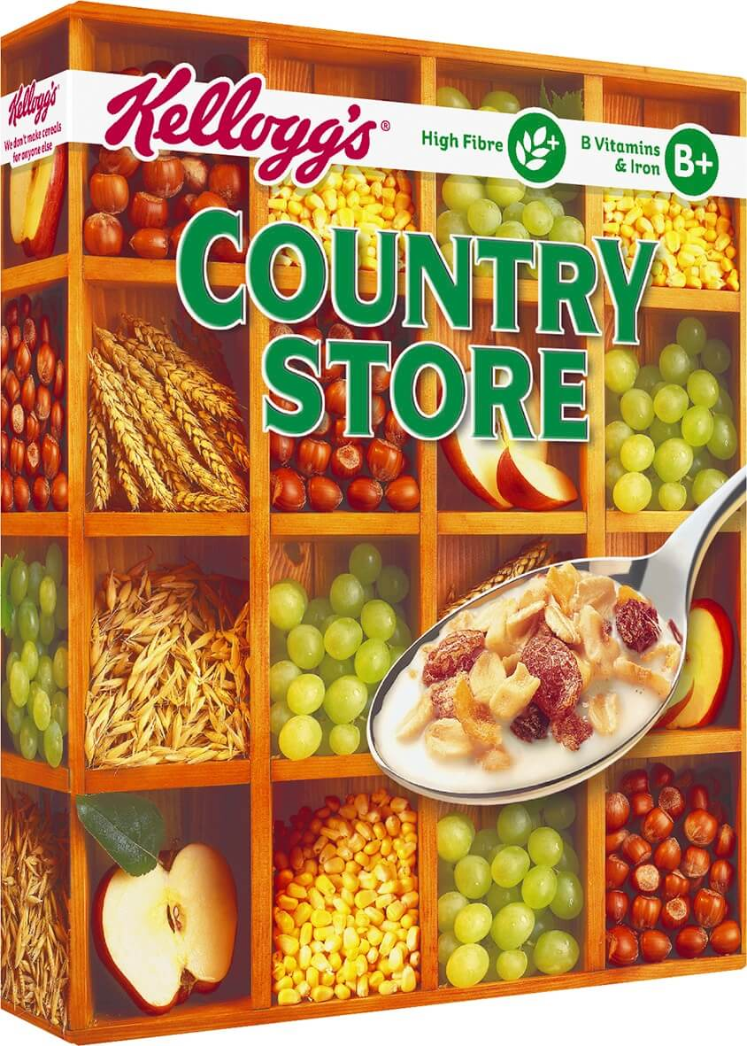 Kelloggs Country Store Cereal 750g