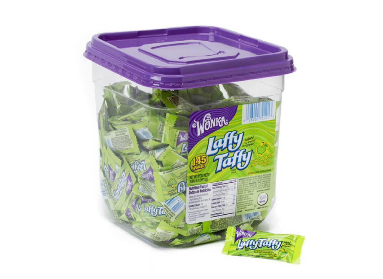 Wonka Laffy Taffy Sour Apple 145st