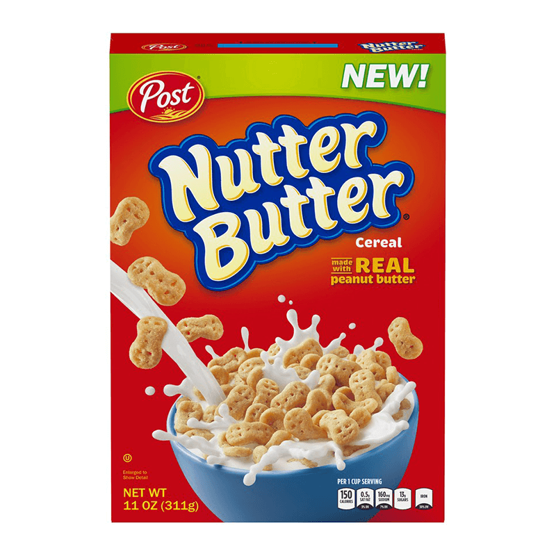 Post Nutter Butter Cereal 311g