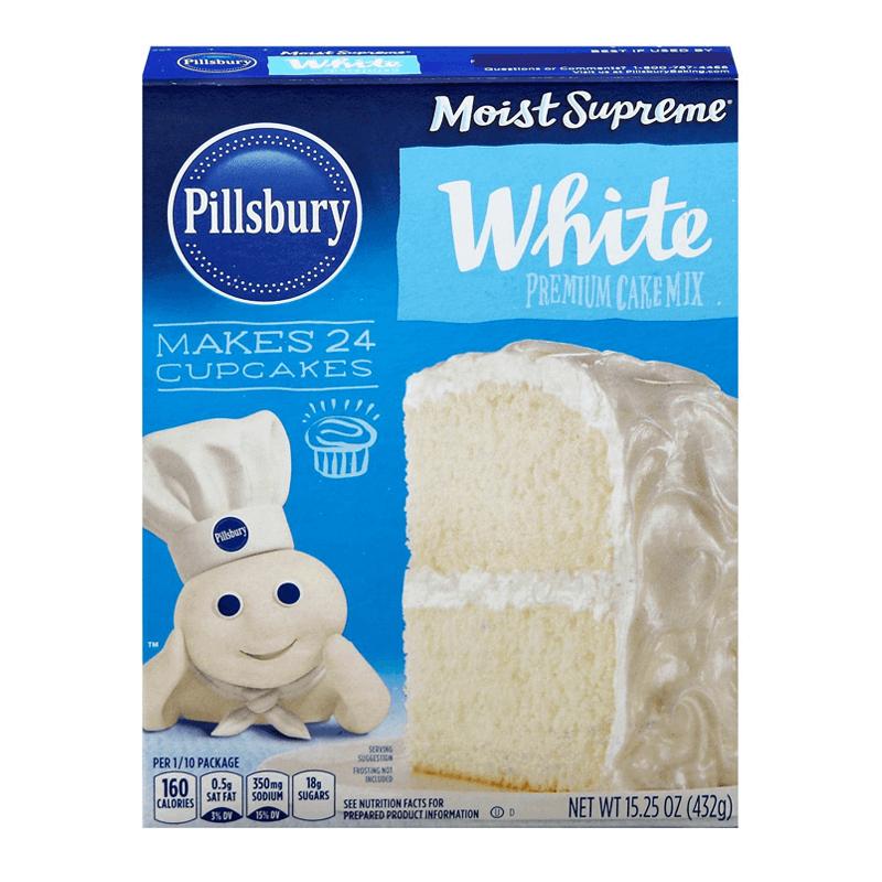 Pillsbury Moist Supreme White Premium Cake Mix 432g