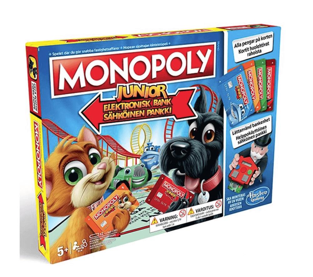 Monopoly Junior Elektronisk Bank