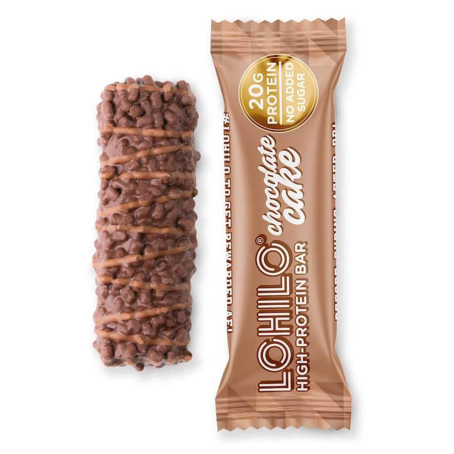 LOHILO Protein Bar - Chocolate Cake 55g