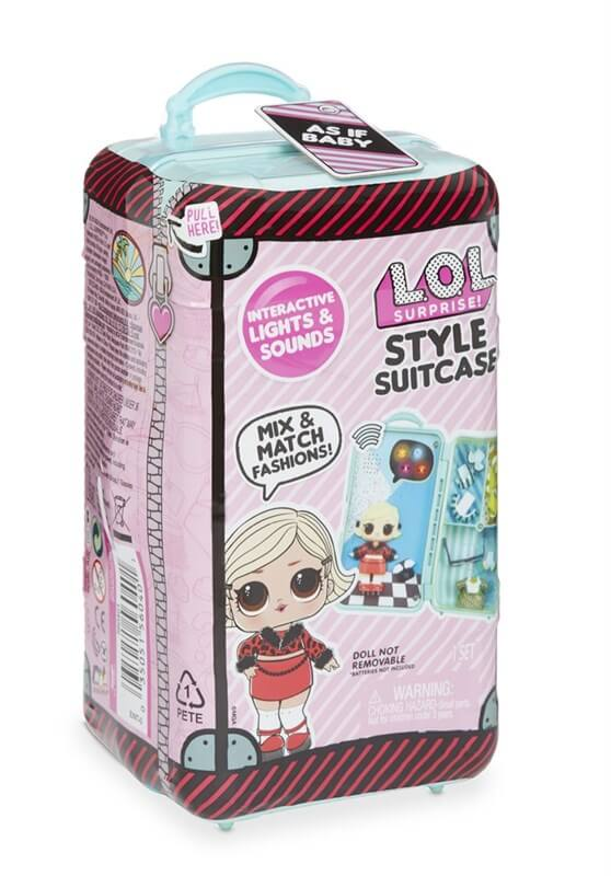 L.O.L. Surprise Style Suitcase