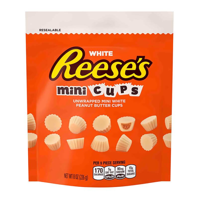 Bild av Reeses White Peanut Butter Unwrapped Minis 226g