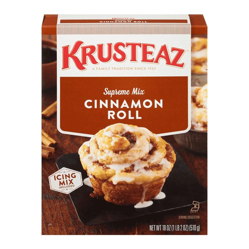 Krusteaz Cinnamon Roll Supreme Mix 510g