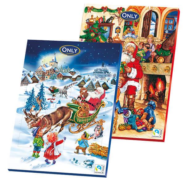 Bild av Adventskalender choklad 75g