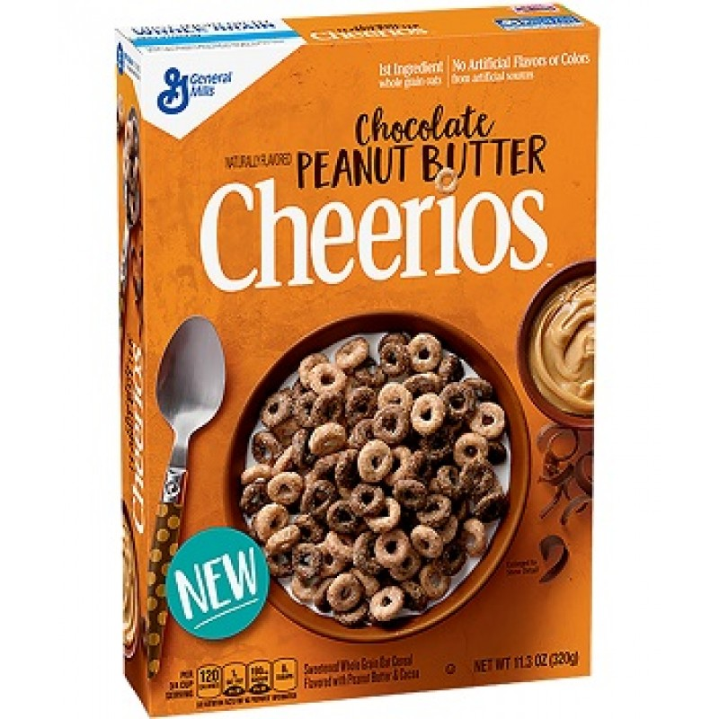 Cheerios Chocolate Peanut Butter cereal 320g