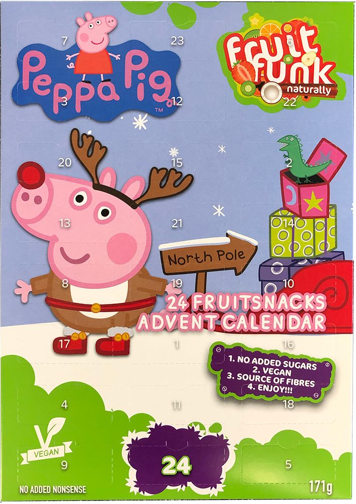 Adventskalender Fruit Funk Peppa Pig 171g