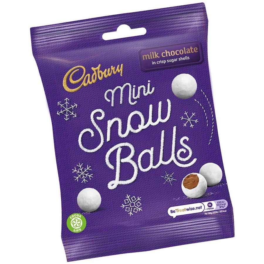 Bild av Cadbury Mini Snowballs 80g