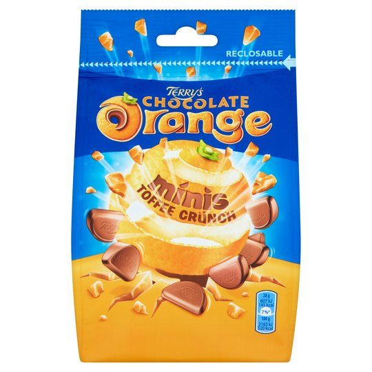 Bild av Terrys Chocolate Orange Minis Toffee 125g