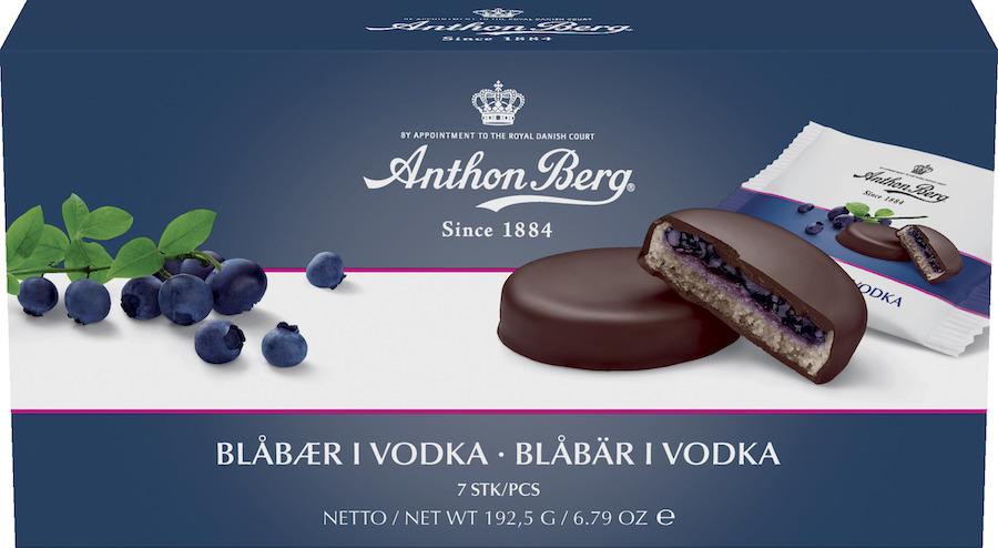 Bild av Anthon Berg Blåbär i Vodka 192g