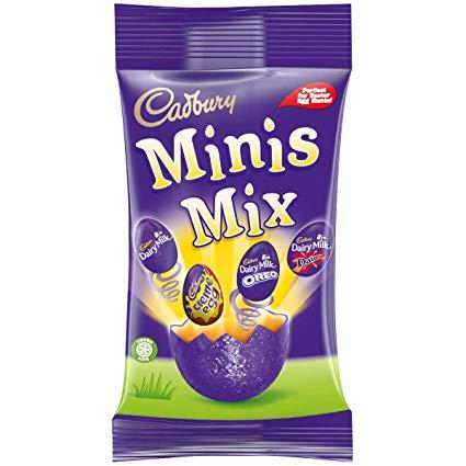 Bild av Cadbury Mixed Mini Filled Eggs 272g