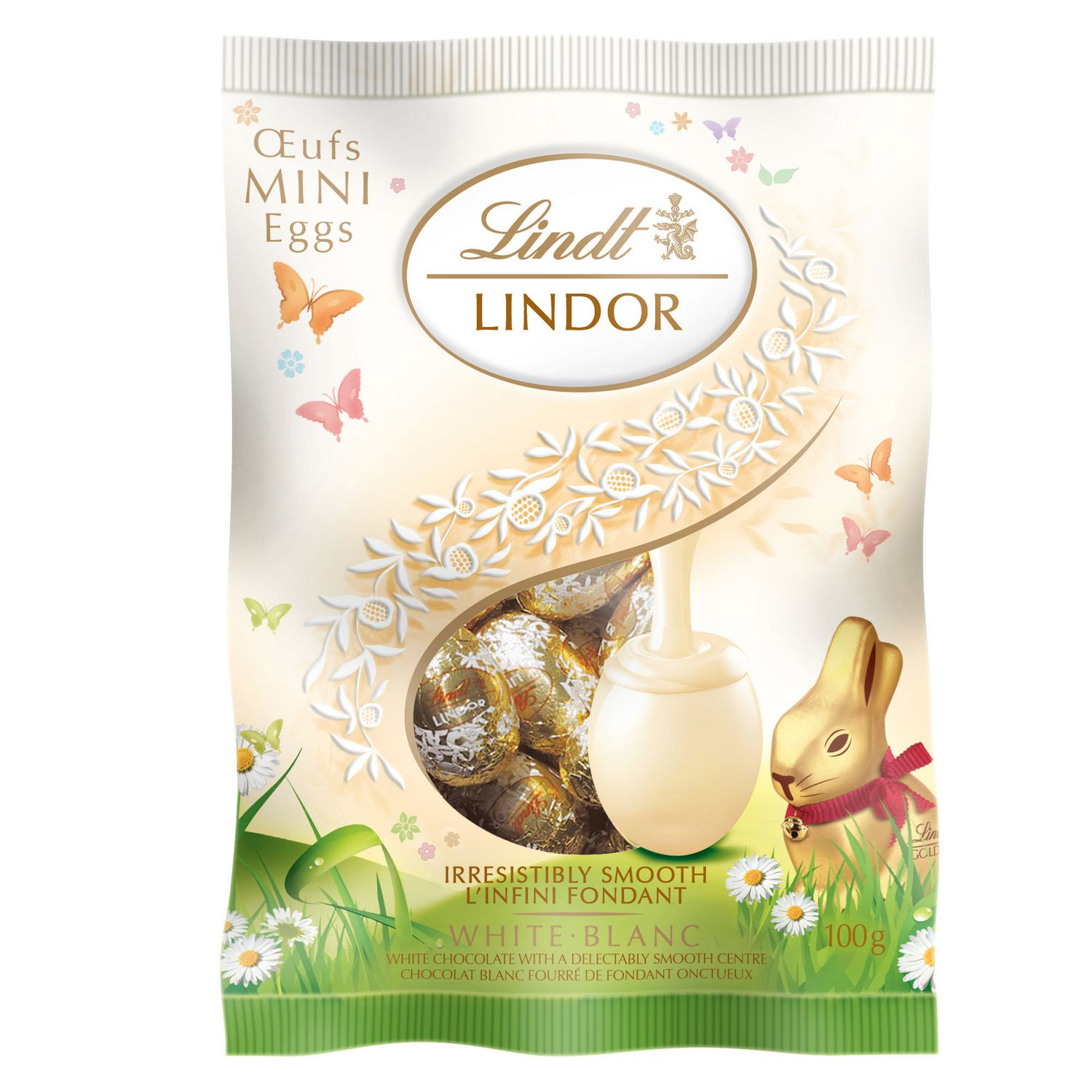 Bild av Lindor Easter Mini Eggs White 80g