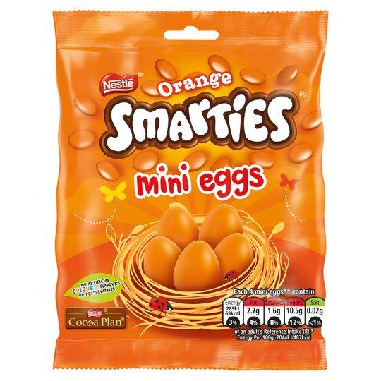 Bild av Smarties Orange Mini Eggs 80g