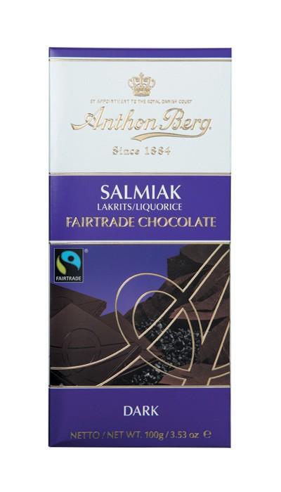 Bild av Anthon Berg Fairtrade Salmiak 100g