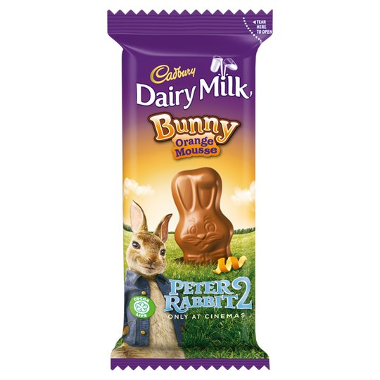 Bild av Cadbury Dairy Milk Chocolate Bunny Orange Mousse 30g