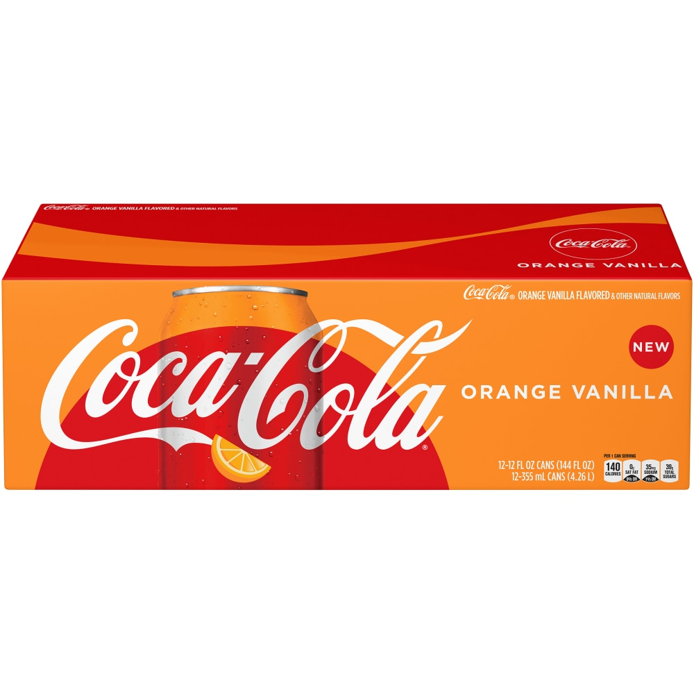 Coca-Cola Orange Vanilla 355ml x 12st
