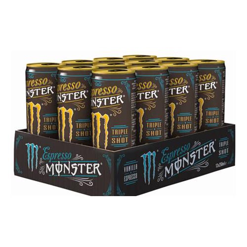 Monster Espresso Vanilla 250ml x 12st