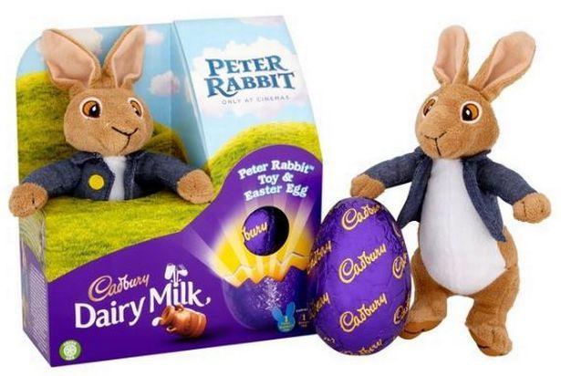 Cadbury Dairy Milk Benjamin Peter Rabbit Toy & Easter Egg 72g