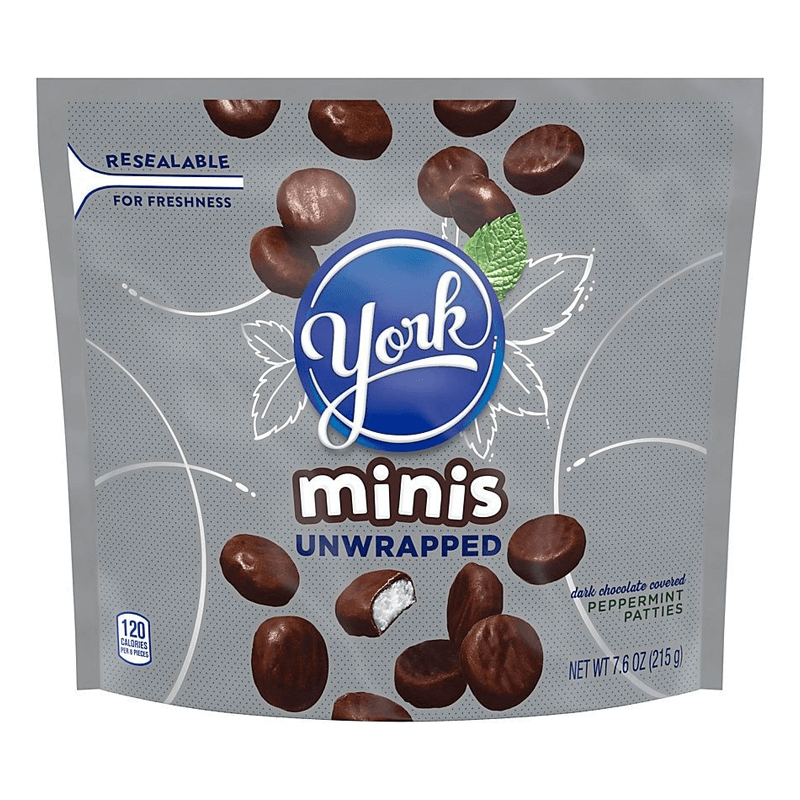 Bild av York Peppermint Patties Unwrapped Minis 215g