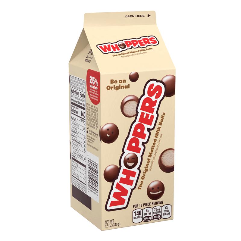 Bild av Whoppers Malted Milk Balls 340g