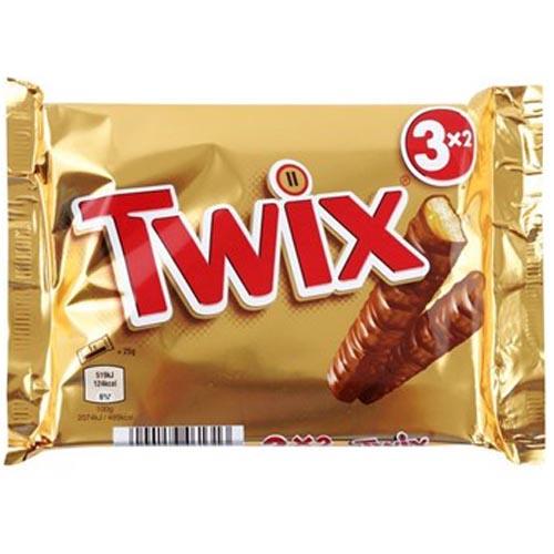 Bild av Twix 3-pack 150g