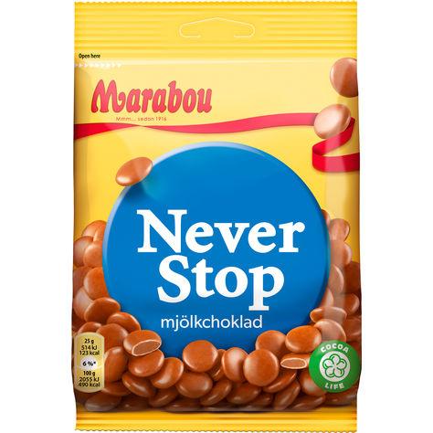 Bild av Marabou Never Stop 100g