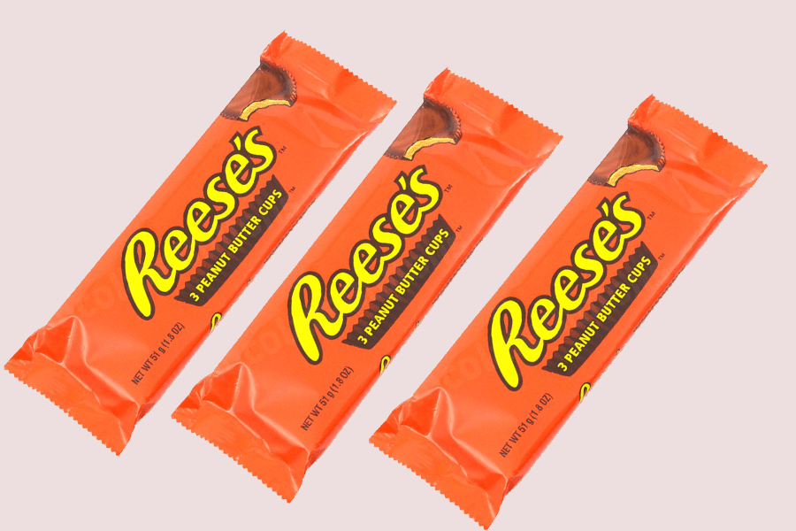 Reeses Peanut Butter Cups 3-pack x 3st