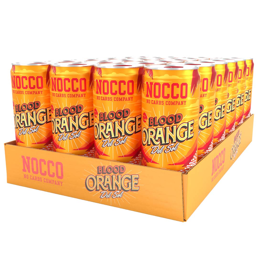 NOCCO Blood Orange Del Sol 33cl x 24st