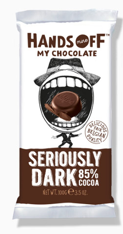 Bild av Hands Off My Chocolate Seriously Dark 85% Cocoa 100g
