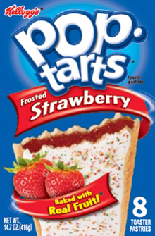 Kelloggs Pop-Tarts frosted Strawberry