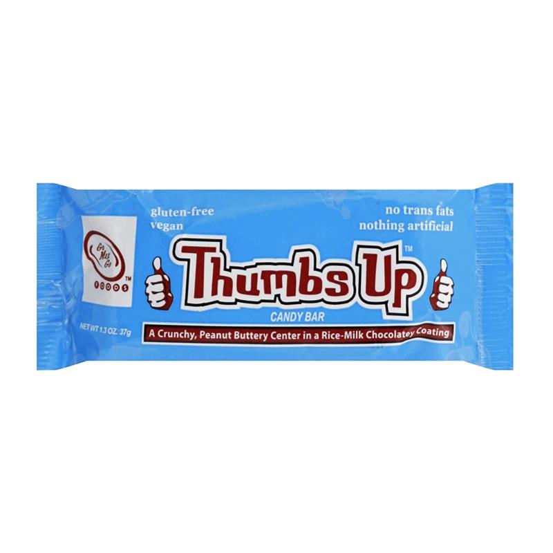 Go Max Go Thumbs Up Vegan Candy Bar 37g