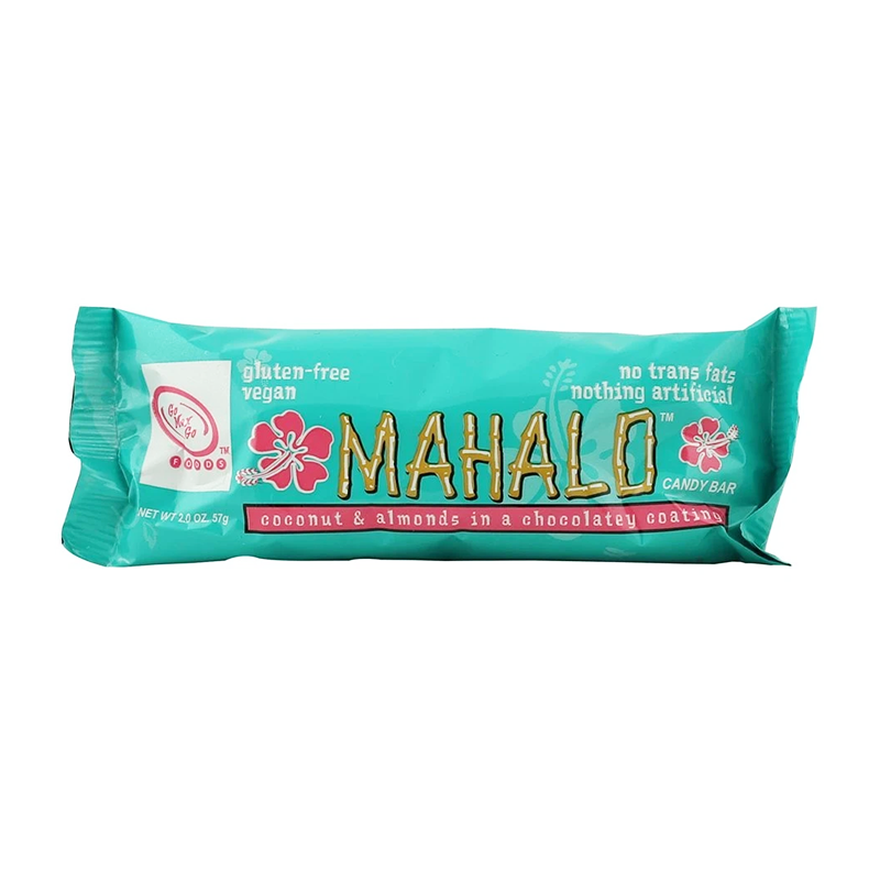 Go Max Go Mahalo Vegan Candy Bar 57g