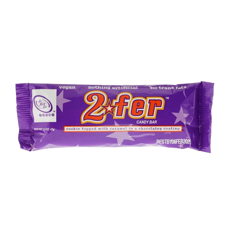 Go Max Go 2fer Vegan Candy Bar 43g