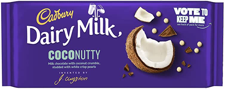 Bild av Cadbury Dairy Milk Inventor Coconutty 105g