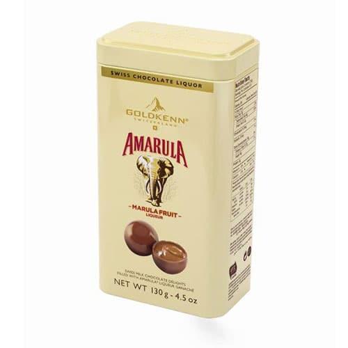 Bild av Amarula likörpraliner i plåtask 130g