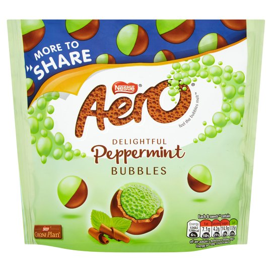 Bild av Aero Bubbles Peppermint Bag 219g