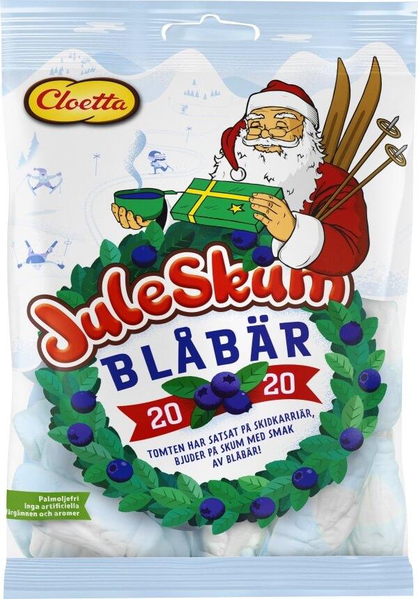 Juleskum Blåbär 100g
