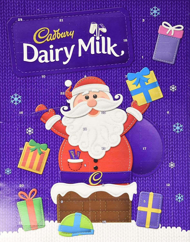 Cadbury Dairy Milk Chocolate Advent Calendar 90g