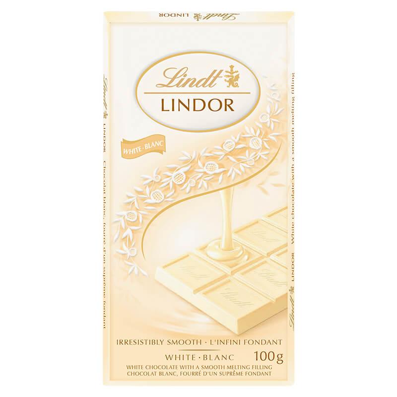 Bild av Lindor White Chocolate Bar 100g