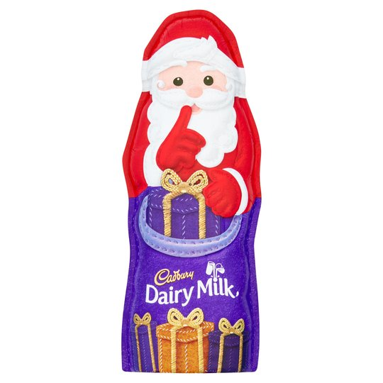 Cadbury Chocolate Hollow Santa 100g