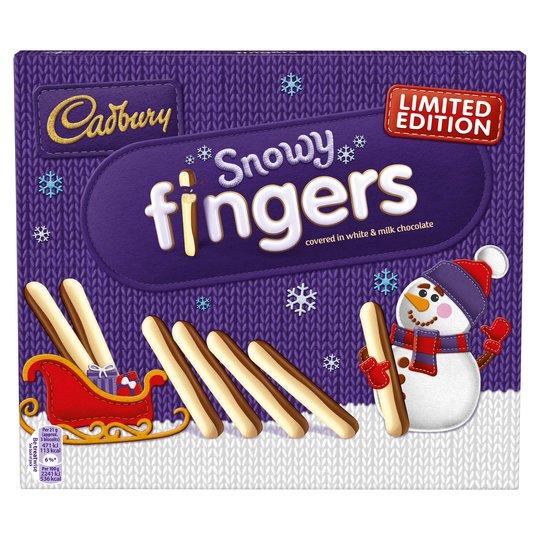 Bild av Cadbury Snowy Fingers 230g