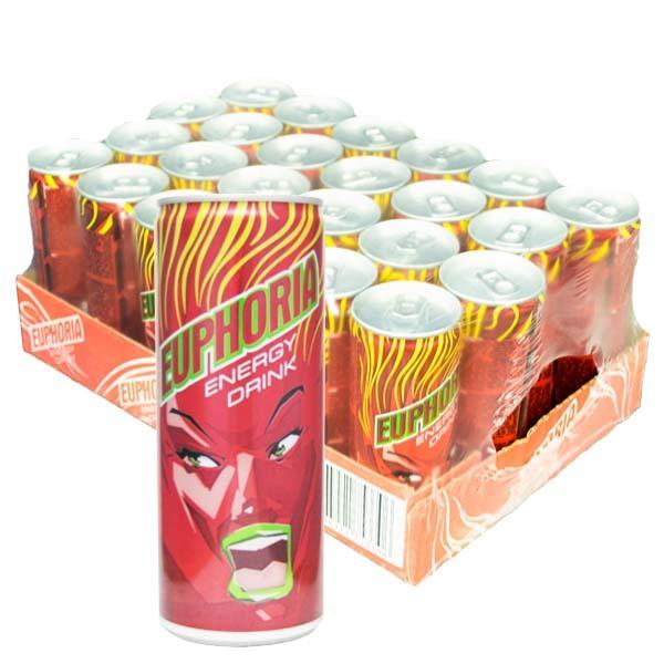 Euphoria Energy Drink 25cl x 24st