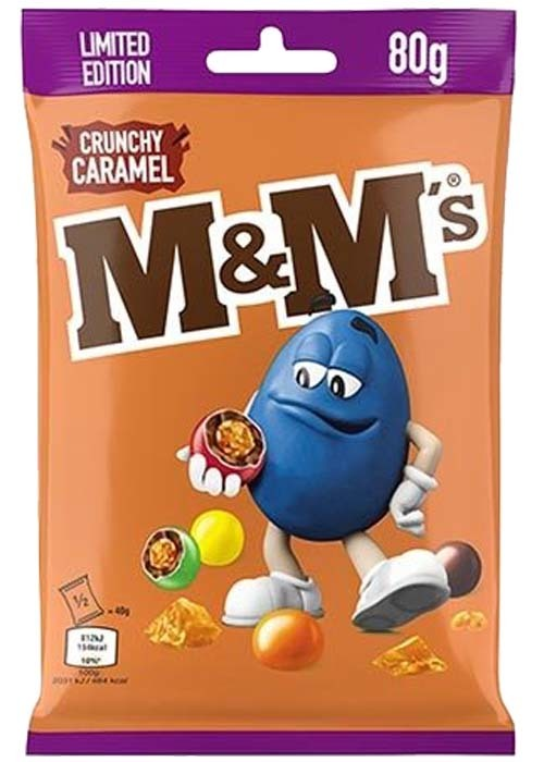 Bild av M&Ms Crunchy Caramel 80g